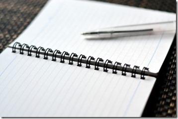 ノートとペンを取り出すのだ!