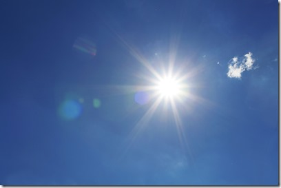 太陽でおます~。