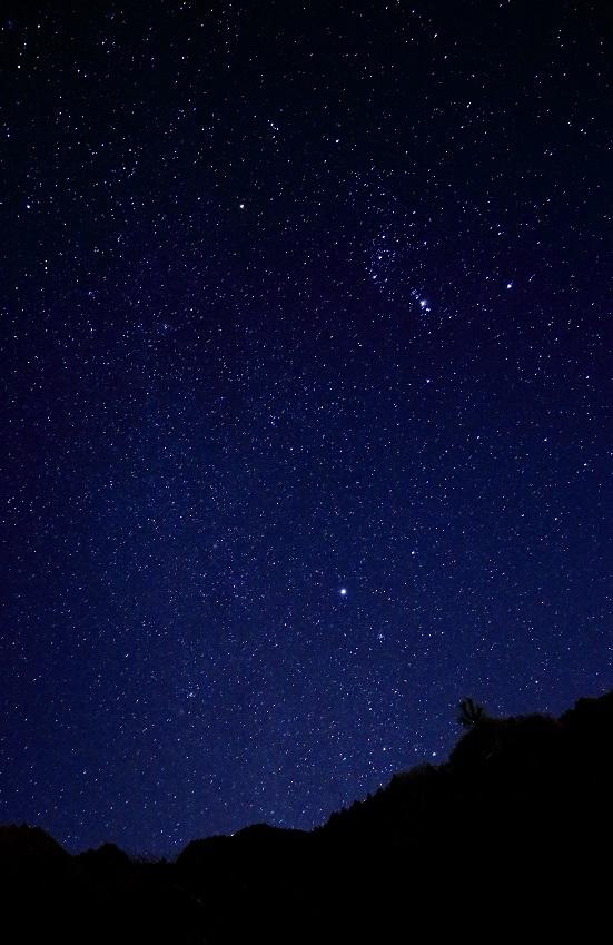 会場近くで2月に撮影した阿蘇の星空。
