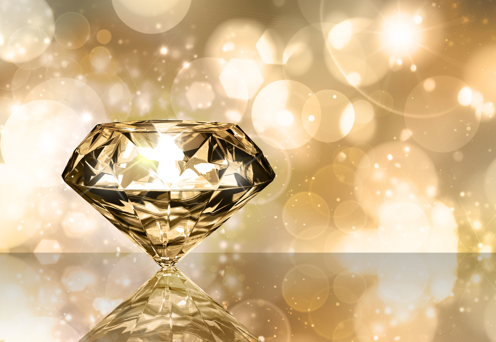 心の中のダイアモンド。